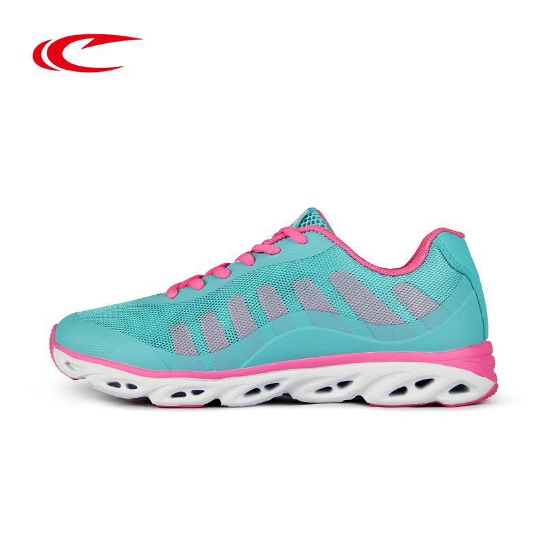 赛琪跑鞋女夏季新款透气减震技术运动鞋女跑步鞋时尚休闲鞋