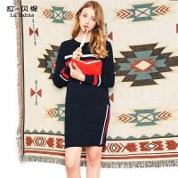 针织套装女2018新款韩版时尚秋冬季气质高腰毛衣配半身裙两件套潮