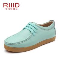 RIIID女板鞋 系带学院休闲女鞋