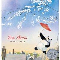 英文原版 禅的故事 凯迪克奖 精装绘本 Zen Shorts by Jon J Muth