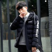 男士外套冬季2018新款男装冬天棉衣韩版修身潮流羽绒加厚棉袄