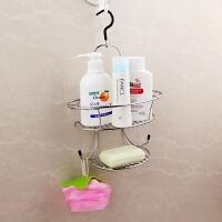 浴室置物架卫生间可旋转挂篮肥皂架洗漱用品收纳架挂架