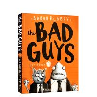 【全店300减100】英文原版 The Bad Guys Episode 1 我是大坏蛋 儿童漫画章节书小说