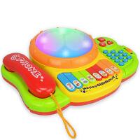 宝宝玩具手机电话机婴儿儿童早教益智音乐1-3岁小孩男女