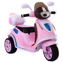 儿童电动摩托车宝宝三轮车男女小孩充电玩具车遥控可坐人电瓶童车