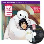 英文原版 Big Hero 6附CD 超能陆战队 ucktales Woo-oo! 迪士尼经典动画故事书 儿童有声读物
