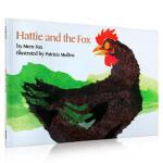 【发顺丰】英文原版 Hattie and the Fox 哈蒂和狐狸 廖彩杏推荐绘本 送音频