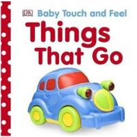 英文原版 DK触摸书:交通工具Things That Go (Baby Touch and Feel)