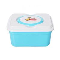 卡秀 锁扣式多功能收纳整理箱化妆储物盒蓝色KX626-1