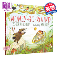 【中商原版】Money-Go-Round 循环再造的钱 精品绘本 低幼故事绘本睡前读物 获奖作家 精装 英文原版 3-6