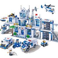 积木玩具积木 拼插组装城市警察消防警察系列男孩6岁以上