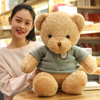 毛衣熊毛绒玩具抱抱熊送女友布娃娃公仔可爱睡觉抱枕女孩
