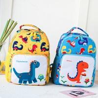 宝宝书包1-3-6岁幼儿园男童春游大班儿童双肩包男恐龙防走失背包