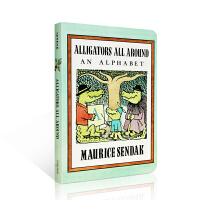 英文原版绘本 小鳄鱼学字母 Alligators All Around: An Alphabet Maurice Se