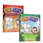 顺丰发货 英文原版 Bunny vs. Monkey Bunny vs. Monkey 1-2-3册 兔子大战猴子 儿