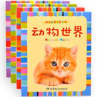 阳光宝贝启蒙卡全4盒 0-1-2-3-6岁半宝宝识图识字卡片儿童认知 全脑记忆早教卡适合学龄前小孩看的书认动物认字婴儿