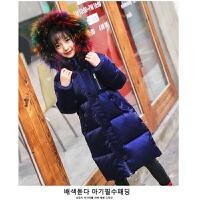 儿童羽绒服女孩子新冬季保暖女童中长中大童外套童装