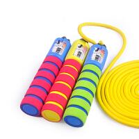 儿童跳绳幼儿园宝宝跳绳 小学生计数可调节初学跳绳运动男孩可用