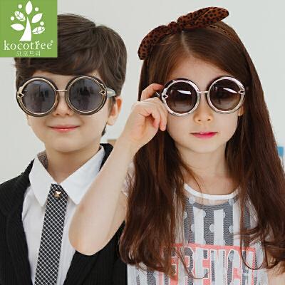KK树儿童太阳镜宝宝眼镜男童女童墨镜防紫外线亲子眼镜潮潮流 时尚 防紫外线