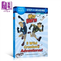 【中商原版】Step Into Reading2:5 Wild Creature Adventures 阅读进阶2级:动