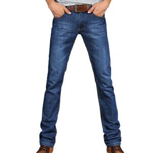 1号牛仔 牛仔裤2016春季新款男装韩版棉直筒修身水洗牛仔裤