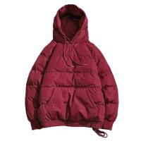 季棉衣男士连帽潮短款棉服学生宽松冬装大码棉衣