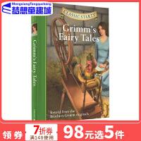 格林童话英文原版小说 儿童书 Classic Starts: Grimm's Fairy Tales 专门为孩子编的名