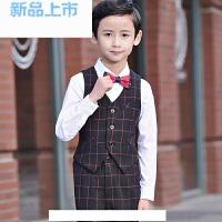 儿童西装男童礼服套装童装韩版花童小西装外套宝宝演出西服秋装春