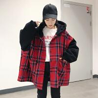 流行衣服女潮2018韩版冬季新款外套女可爱萌系社会女帅气oversize