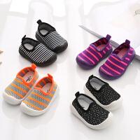 学步鞋女宝宝公主鞋子春秋季男童鞋软底婴儿机能鞋