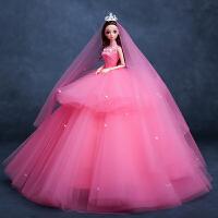 可爱洋娃娃套装大礼盒叶萝莉女孩公主玩具婚纱儿童创意礼物女童