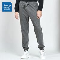 [5折秒杀价:71.9元,仅限12.4-5]真维斯男装 2019秋装 混纺卫衣布针织长裤