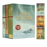 预售 英文原版 黑暗物质三部曲 His Dark Materials Trilogy 3册盒装 黄金罗盘 魔法神刀 琥珀