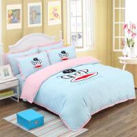 卡通全棉四件套Kitty凯蒂猫床裙棉被套儿童公主风1.5m床上用品