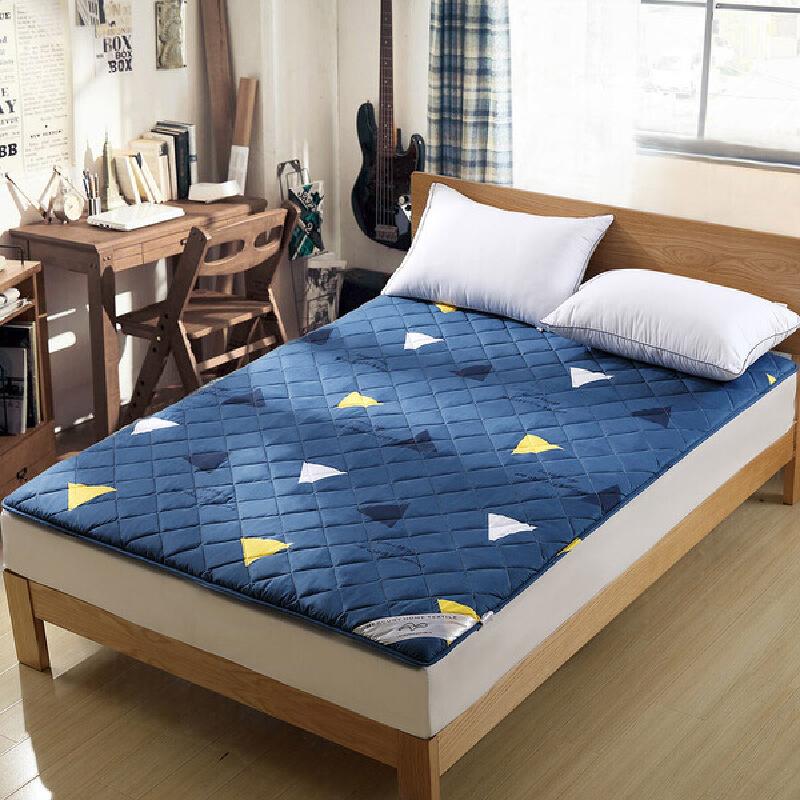 水星家纺 简约抗菌防螨床垫 微澜抗菌防螨床垫