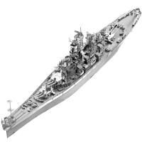 立体拼图模型密苏里号战列舰拼装玩具益智手工DIY