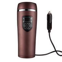 快速制冷杯车载电热杯12V汽车通用热水器智能水杯自动快速加热保温杯烧水壶