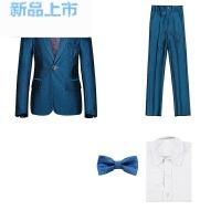 男童西装套装春夏韩版走秀舞台表演主持演出服花童礼服儿童西装男