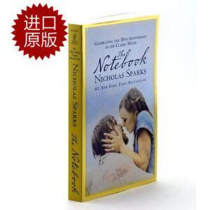 【现货】英文原版 恋恋笔记本 The Notebook(手札情缘)十周年纪念版 尼古拉斯・斯帕克思 经典畅销作品 同名电影原著