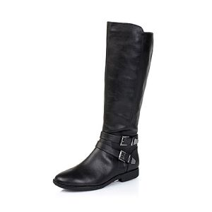 Teenmix/天美意专柜同款牛皮女靴(北)6D480DG5