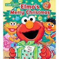 Elmo's Merry Christmas 英文原版 芝麻街:阿莫的圣诞节 纸板翻翻书 (Sesame Street)