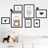 温馨床头背景墙面装饰墙贴可移除壁画贴纸3d立体自粘个性创意卧室 特大