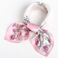 小方巾 围巾春秋季方巾丝巾女士职业领巾丝绸小丝巾