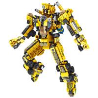 儿童拼装玩具男孩子变形机器人金刚模型