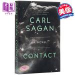 【中商原版】卡尔・萨根:接触 英文原版 Contact: A Novel 科幻小说 Carl Sagan