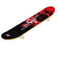 基础滑板枫木双翘板四轮滑板 磨砂面成人公路滑板