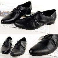 DAZED CONFUSED 英伦风男鞋子男款休闲鞋 时尚潮流男士尖头皮鞋商务休闲皮鞋