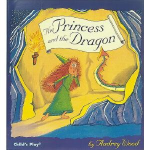 英文原版 The Princess And The Dragon 公主与龙 韵文大师 Audrey Wood 廖彩杏书单 绘本图画书