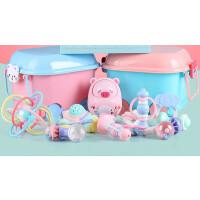 婴儿礼盒新生儿玩具套装满月宝宝礼物用品初生刚出生衣服秋 新生儿