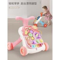 婴儿学步车手推车防侧翻6-18个月男女孩宝宝学走路儿童助步玩具7